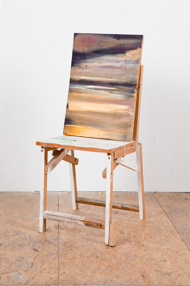 Landscape with chair, 2019